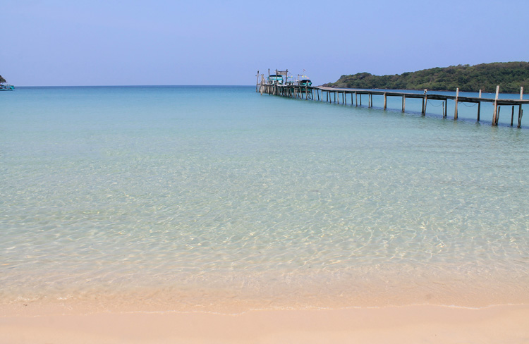 Bang Bao Bay beach, Koh Kood, the most beautiful island in Thailand