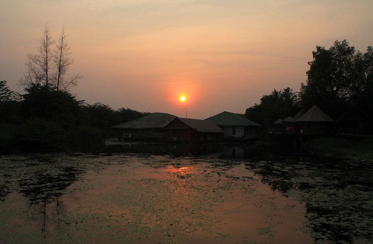 Best sunsets in Thailand -- Kanchanaburi