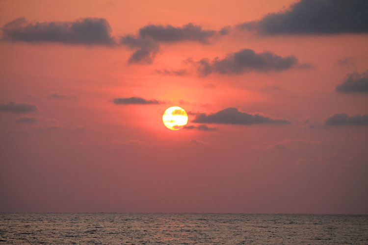 Best sunsets in Thailand -- Koh Chang