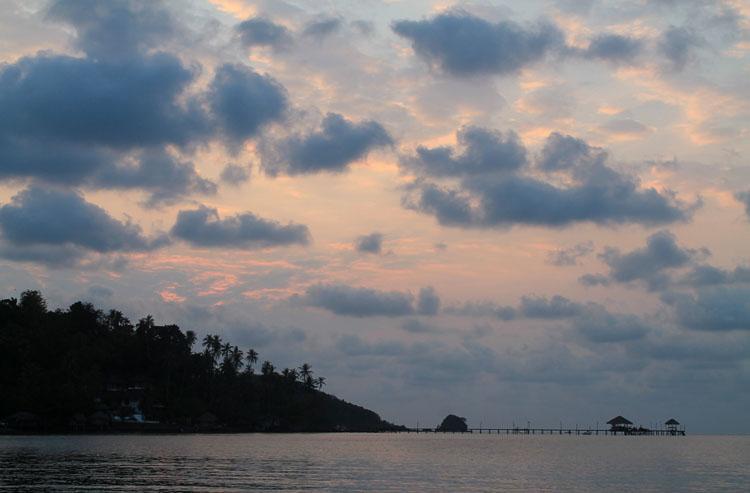 Best sunsets in Thailand -- Koh Mak