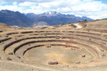 A day trip to Moray and Salinas de Maras, Peru