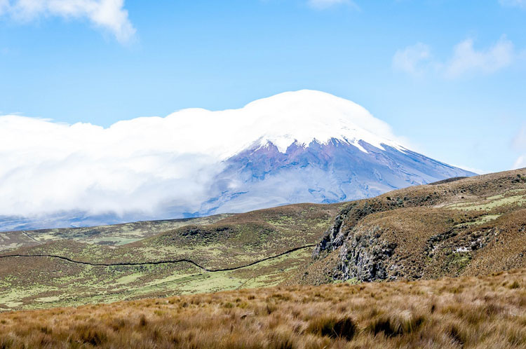 Stunning natural wonders in South America -- Cotopaxi, Ecuador