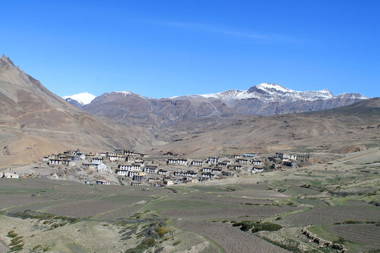 spiti-tibetan-village-kibber