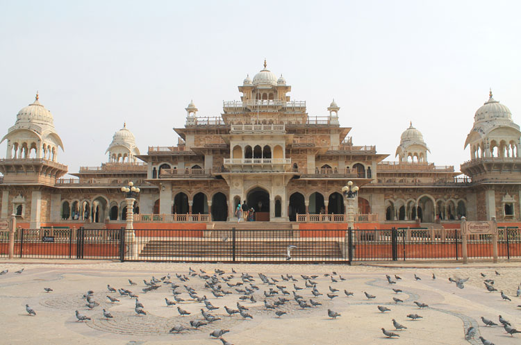 Touring the Forts and Palaces in Jaipur, India -- Albert Hall Museum