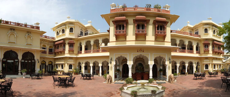 Touring the Forts and Palaces in Jaipur, India -- Alsisar Haveli