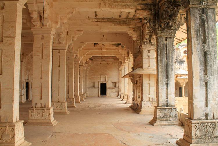 The streets of Bundi, Rajasthan, India -- Inside Garh Palace