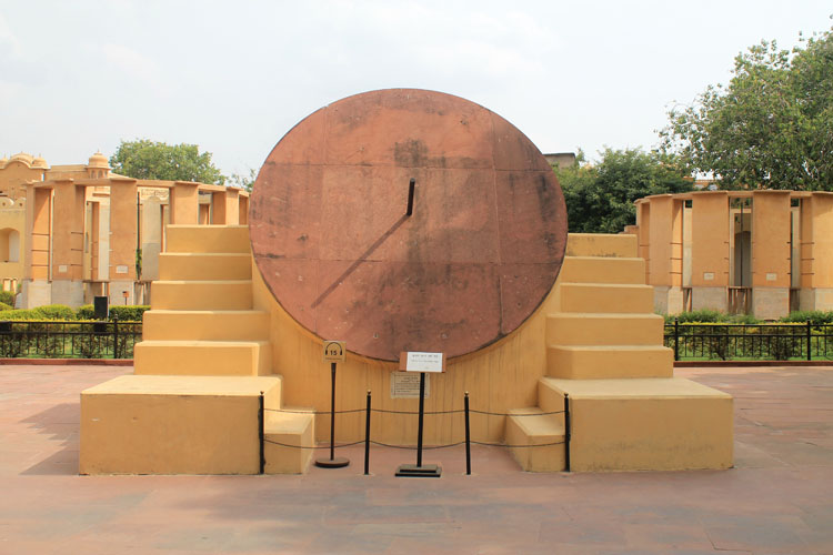 Touring the Forts and Palaces in Jaipur, India -- Jantar Mantar