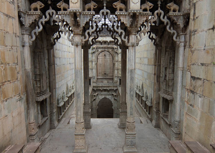 The streets of Bundi, Rajasthan, India -- Raniji Ki Baori