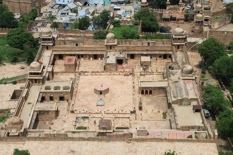 gwalior-from-above