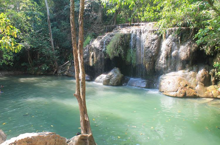 Kanchanaburi travel guide, Thailand -- Erawan Falls