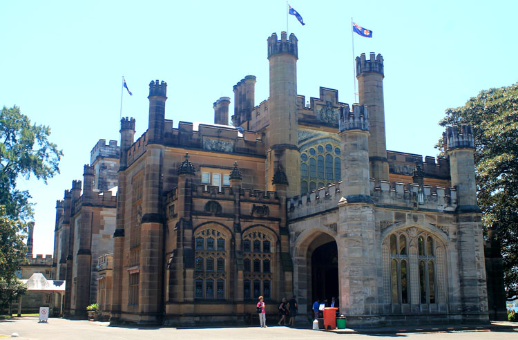 A day in Sydney, Australia -- Government House