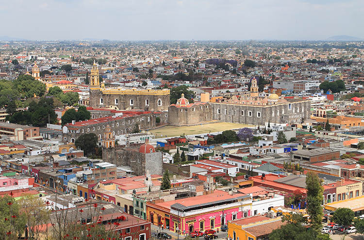 Backpacking in Mexico: Cholula