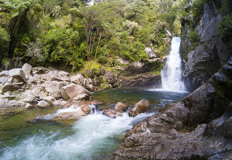 Wainui Falls, Abel Tasman National Park, New Zealand