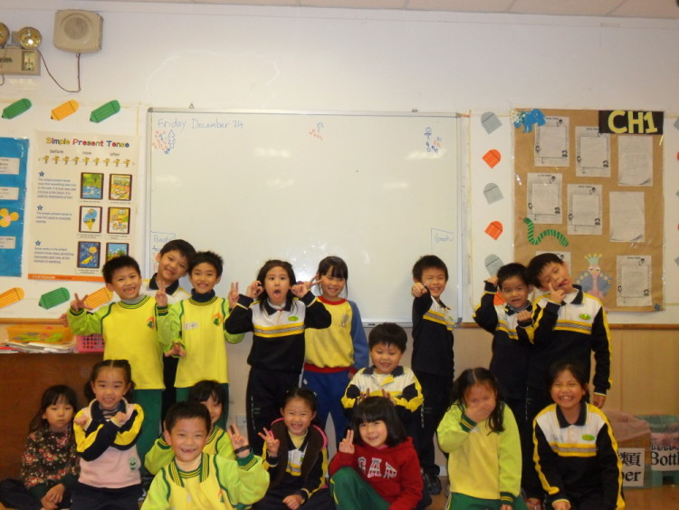 Class Photo - Teaching English in Taiwan