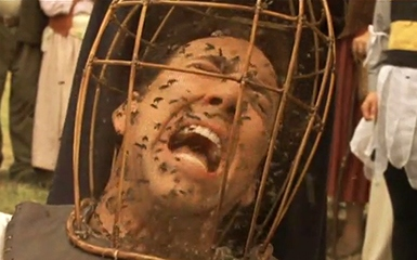 Nicholas Cage ahh not the bees