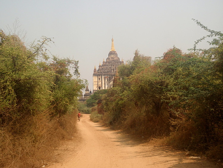 Historic ancient temples and ruins in Asia - Bagan, Myanmar