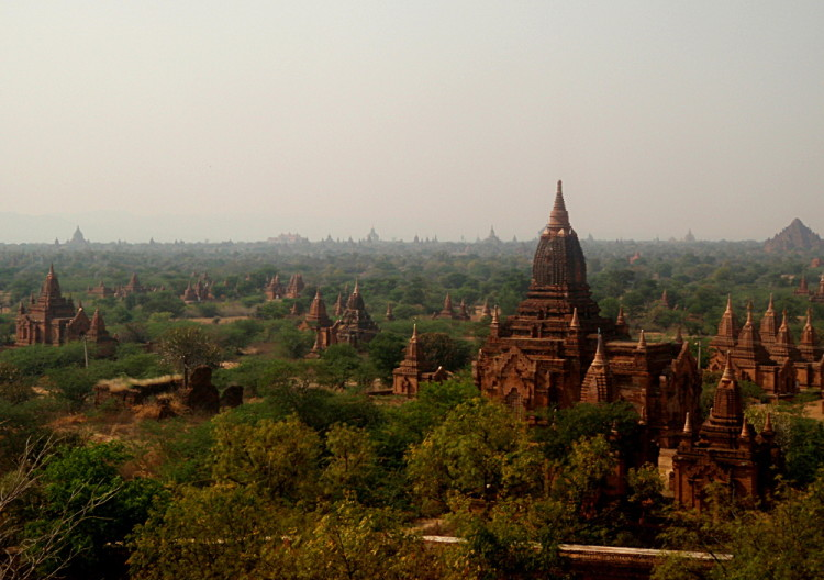Amazing ancient temples and ruins in Asia - Bagan, Myanmar