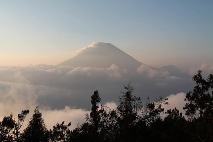 A sunrise at Dieng Plateau, a great stop off during a week in Java, Indonesia