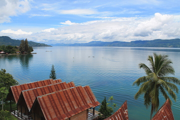 Lake toba, one of the highlights of Southeast Asia