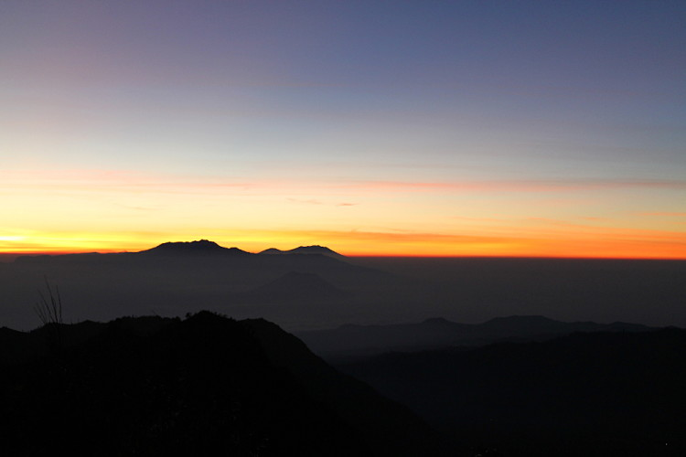 Sunrise at Mt Bromo, one of the most impressive stops during a week in Java, Indonesia