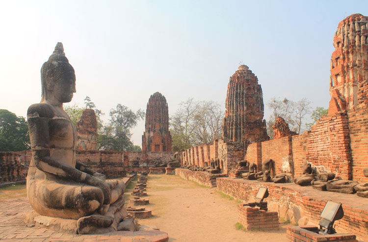 The best ancient temples and ruins in Asia -- Temples in Ayutthaya, Thailand
