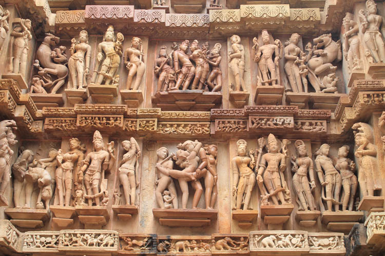 The best ancient temples and ruins in Asia -- the erotic Khajuraho temples