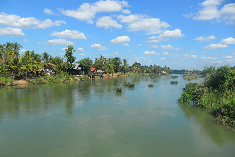 Don Det, on of the 4000 Islands in Laos