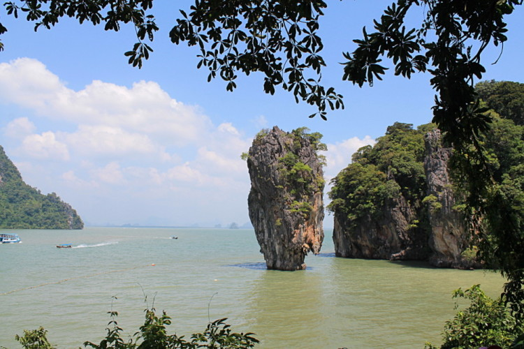 James Bond Island, a stop on the Phang Nga Bay tour, a great activity to do when you travel to Phuket