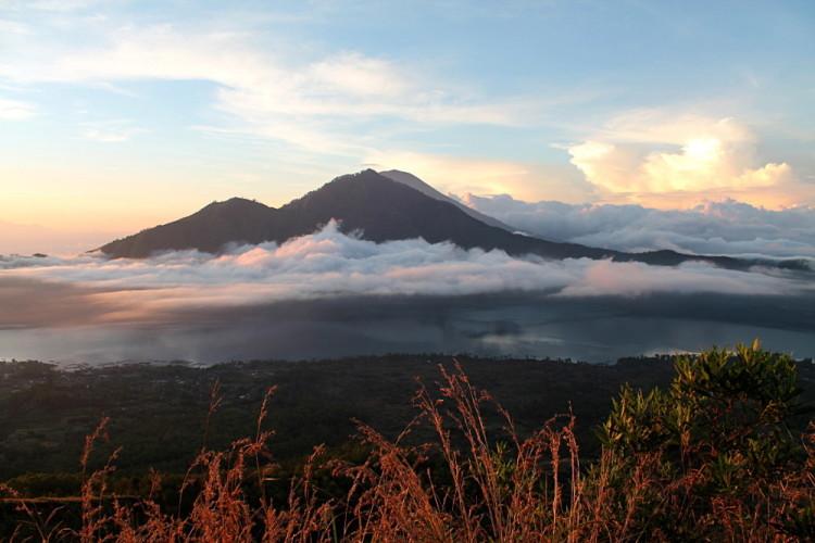 Climbing Mt Batur, Ubud, Bali