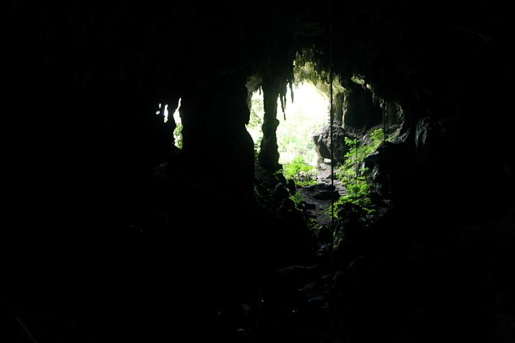 Inside Niah Caves near Miri, Sarawak, Malaysia