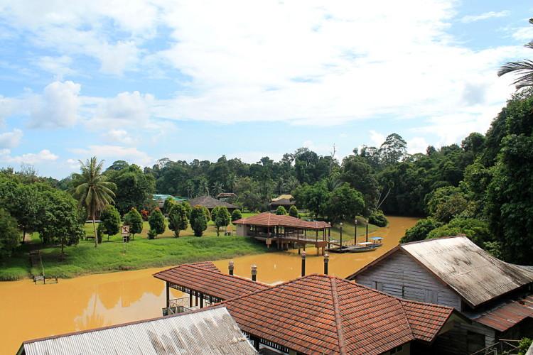 The Niah Caves park headquarters near Miri, Sarawak, Malaysia