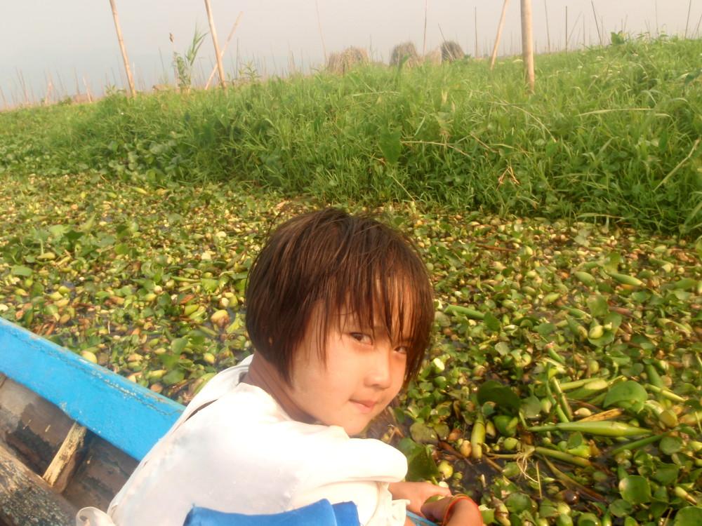 A cute kid who I met travelling in Myanmar
