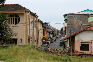 The old colonial town in Galle, on Sri Lanka's west coast