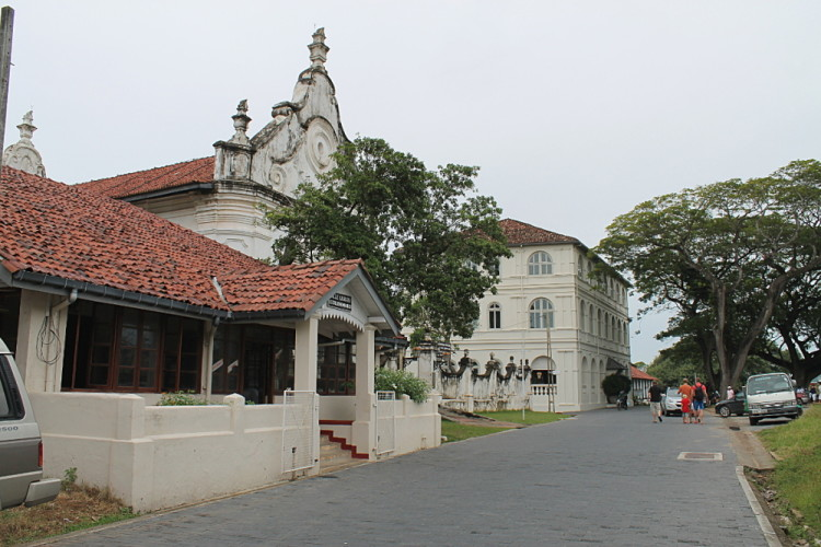 buildings inside Galle Fort, Sri Lanka
