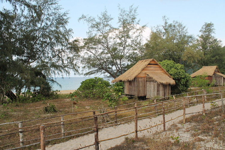 Bungalows at Lazy Beach, Koh Rong Samloem, Cambodia