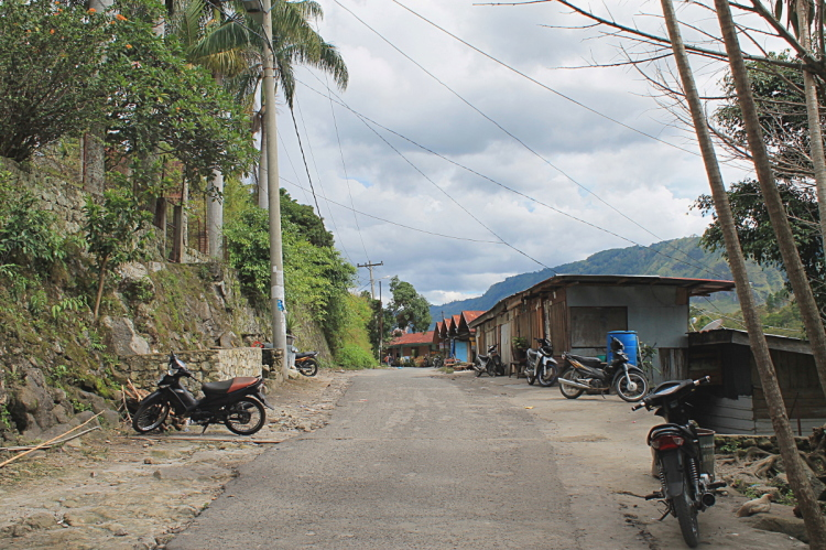 Tuk tuk village on Samosir Island, Lake Toba, Indonesia