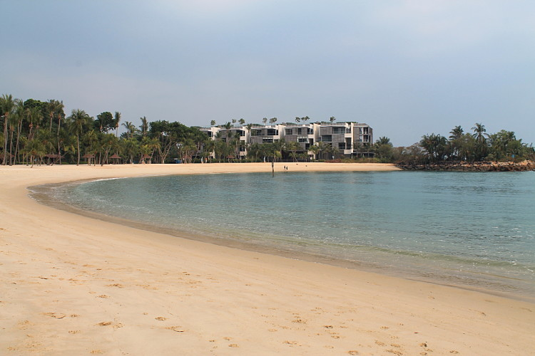 Tanjong Beach, Sentosa Island, one of the best beaches in Singapore