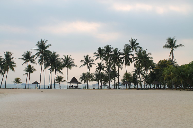 The best beaches in Singapore - Tanjong Beach Club, Sentosa Island, Singapore