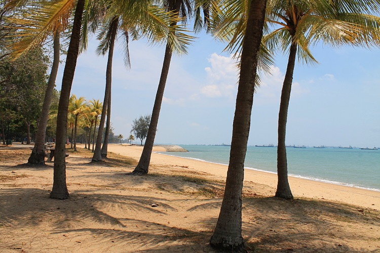 One of the best beaches in Singapore can be found at Changi Park