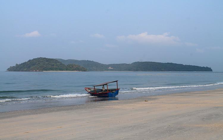 Pantai Cenang, just before the island hopping tour in Langkawi, Malaysia