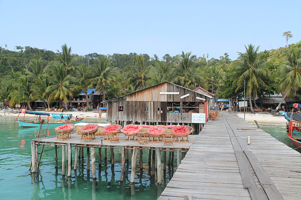 A guesthouse on Koh Rong, Cambodia