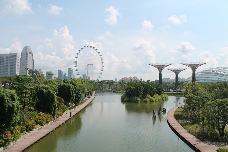Gardens by the Bay, downtown Singapore, a must see during 2 days in Singapore