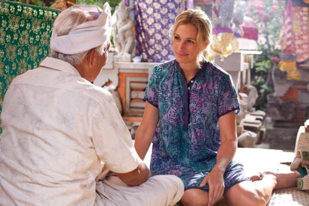 Eat Pray Love, a movie set in Indonesia