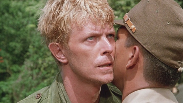 David Bowie in Merry Christmas Mr Lawrence, a movie set in Indonesia