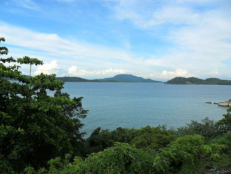 A stunning view on Pulau Pangkor, one of the quietest islands in Malaysia