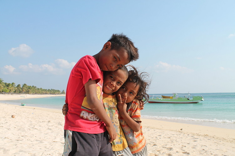 Kids in Nemberala, Rote Island, Indonesia