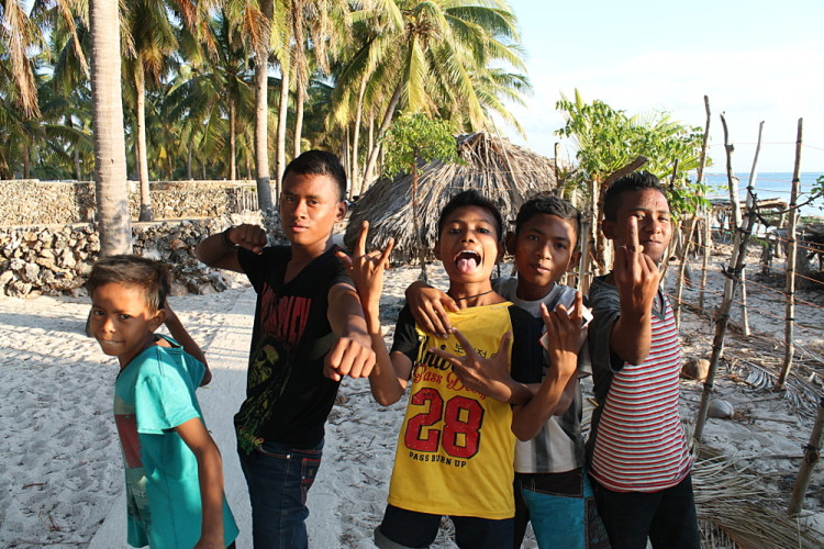 Kids on Rote Island, Indonesia