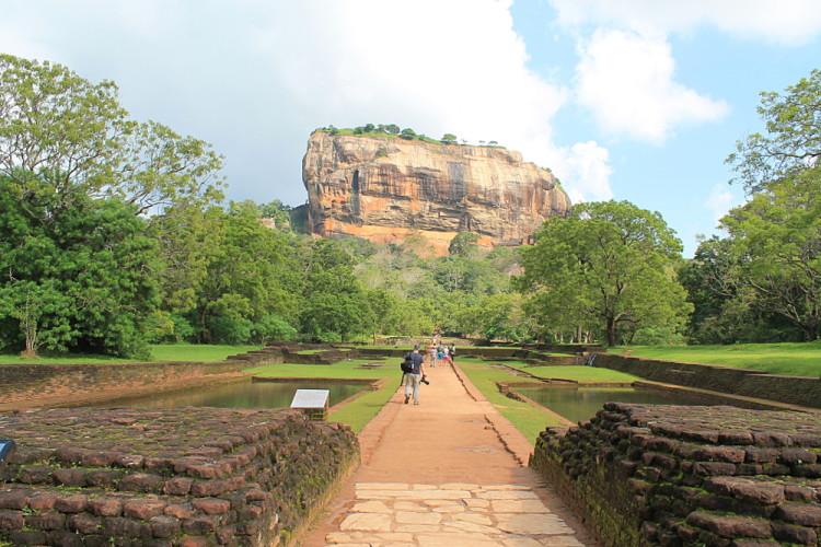 The Lion Rock in Sigiriya, I recommend it if you are backpacking in Sri Laka