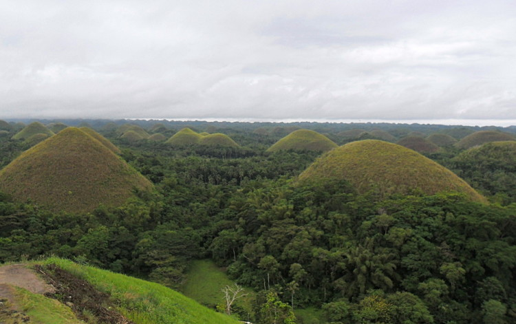 Chocolate Hills, one of the best natural wonders in Southeast Asia