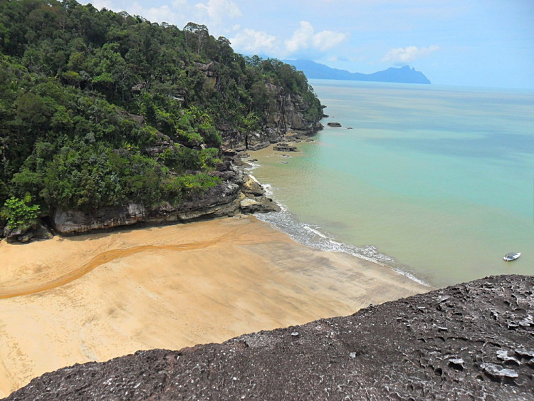 Bako National Park, a great stop if backpacking in Malaysia